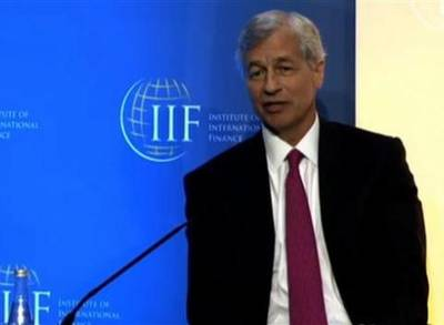 News video: Dimon on Jobs and Banking Regulation