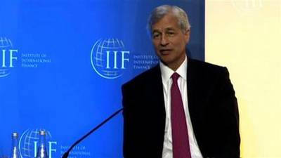 News video: Dimon Weighs In on Jobs and Banking Regulation